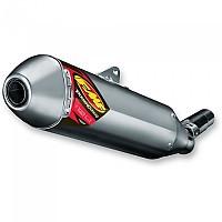 [해외]FMF Power코어 4 HEX Slip On WR450F 16-18/YZ450F 14-17 Silver