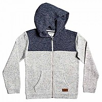 [해외]퀵실버 Keller Block Zip Youth Light Grey Heather