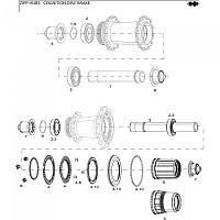 [해외]ZIPP Bearing Press Tool 61903 Black