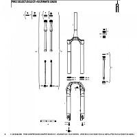 [해외]락샥 Charger RC2 Crown Fork Compression Damper Knob Kit For Lyrik RC2/Ultimate RC2/Pike RC2 Ultimate Black