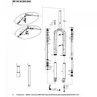 [해외]락샥 RS-1 Remote Xloc Full Sprint 라이트 골드 Adjuster Black