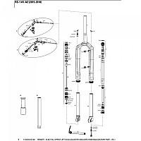 [해외]락샥 RS-1 Remote Xloc Full Sprint Left 골드 Adjuster Black