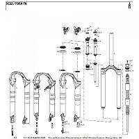 [해외]락샥 Foam Rings Kit 20 Units White / White