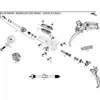 [해외]스램 G2 RSC/Ultimate Reservoir Deckel Kit Black