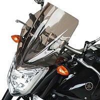 [해외]BULLSTER Yamaha FZ1 하이 Protection 윈드shield Smoked Black