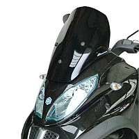 [해외]BULLSTER Piaggio MP3 LT 300/400/500 Racing 윈드shield Smoked Grey