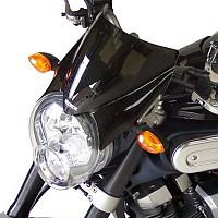 [해외]BULLSTER Yamaha MT-01 1700 St앤드ard 윈드shield Smoked Black
