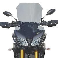 [해외]BULLSTER Yamaha MT-09 900 Tracer 하이 Protection 윈드shield Smoked Grey