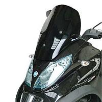 [해외]BULLSTER Piaggio MP3 LT 300/400/500 Racing 윈드shield Smoked Black