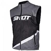 [해외]SHOT Bodywarmer Lite Jacket 9137391863 Grey / Black