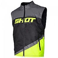 [해외]SHOT Bodywarmer Lite Jacket 9137391864 Grey / Yellow