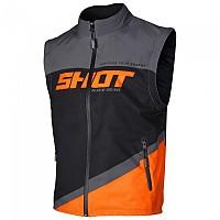 [해외]SHOT Bodywarmer Lite Jacket 9137391865 Grey / Orange