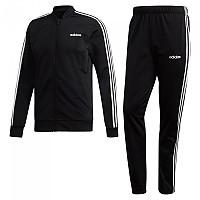 [해외]아디다스 Back 2 Basics 3 Stripes Tracksuit Regular Black / Black / White