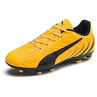 [해외]푸마 One 20.4 FG/AG Ultra Yellow / Puma Black / Orange Alert