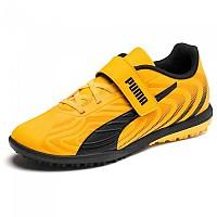 [해외]푸마 One 20.4 Velcro TT Ultra Yellow / Puma Black / Orange Alert