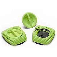 [해외]SPEEDPLAY 제로 에어로 Walkable Cleat Cover Green Team