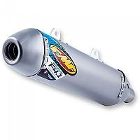 [해외]FMF Factory 4.1 RCT Slip On Titanium Husqvarna FC250/350/450&KTM 250/350/450 SXF 16-18 Silver