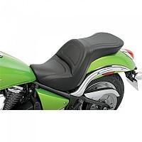 [해외]새들맨 Kawasaki VN900 Vulcan Custom 익스플로러 Seat W/Backrest Black