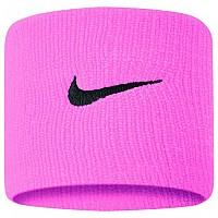 [해외]나이키 ACCESSORIES Swoosh Wristbands Pink Gaze / Oil Grey