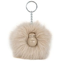 [해외]키플링 Pompom Monkey 10 Pack Silver Beige TF