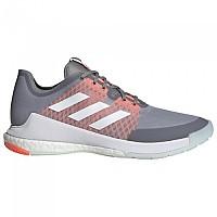 [해외]아디다스 Crazyflight Grey Three / Footwear White / Signal Coral