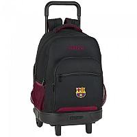 [해외]SAFTA F.C.Barcelona Layers Wheeled Compact Extraible Black