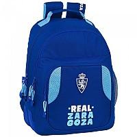 [해외]SAFTA Real Zaragoza Corporate Double Folder Blue / Turquoise