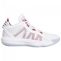 [해외]아디다스 Dame 6 Footwear White / Scarlet / Core Black