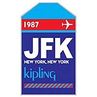 [해외]키플링 Puff 태그 JFK Blue