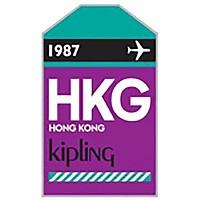 [해외]키플링 Puff 태그 HKG Purple