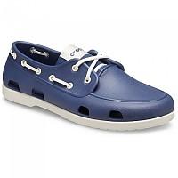 [해외]크록스 Classic Boat Shoe M Navy / Stucco