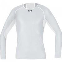 [해외]GORE? Wear 윈드stopper Base Layer L/S Light Grey / White