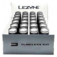 [해외]LEZYNE 튜브less Kit 24 Units 박스 White