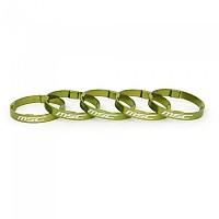 [해외]MSC 울트라light Tetra Aluminium Head 스페이스rs 5 Units Green