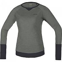 [해외]GORE? Wear C5 트레일 L/S Jersey Castor Grey / Terra Grey