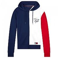 [해외]타미힐피거 언더웨어 Full Zip 컬러 블록 후드ie Navy Blazer