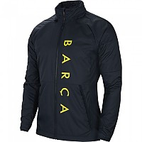 [해외]나이키 FC Barcelona All Weather Fan Lite 19/20 Dark Obsidian / Dark Obsidian / Sonic Yellow