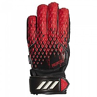 [해외]아디다스 Predator Match Fingersave Junior Black / Active Red