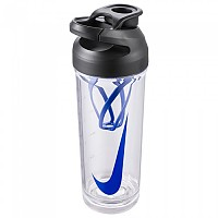 [해외]나이키 ACCESSORIES TR Hypercharge Shaker B Graphic 24oz Clear / Black / Game Royal