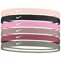 [해외]나이키 ACCESSORIES Swoosh Sport Headbands 2.0 6 Pack Barely Rose / Black