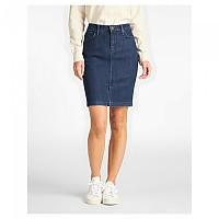 [해외]LEE Skirt Tonal Stonewash