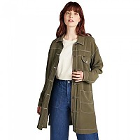 [해외]LEE Elongated Duster Plus Olive Green