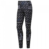[해외]리복 Workout Ready All Over Print Black