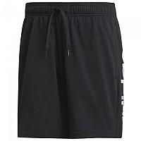 [해외]아디다스 Essentials Linear Single Jersey Shorts Short Black / White