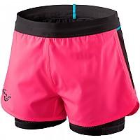 [해외]다이나핏 Alpine Pro 2 In 1 Fluo Pink / Black Out