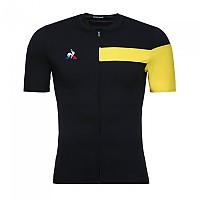 [해외]르꼬끄 사이클링 Jersey Black / Empire Yellow