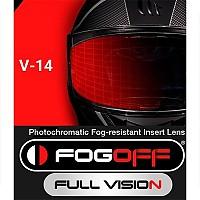 [해외]MT 헬멧 MT-V-14 Fog Off Photochromatic Insert Lens