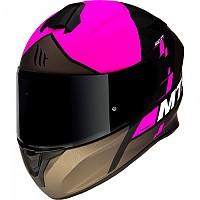 [해외]MT 헬멧 Targo Rigel Matt Fluor Pink