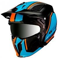 [해외]MT 헬멧 Streetfighter SV Twin Gloss Fluor Orange