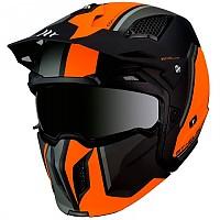 [해외]MT 헬멧 Streetfighter SV Twin Matt Fluor Orange